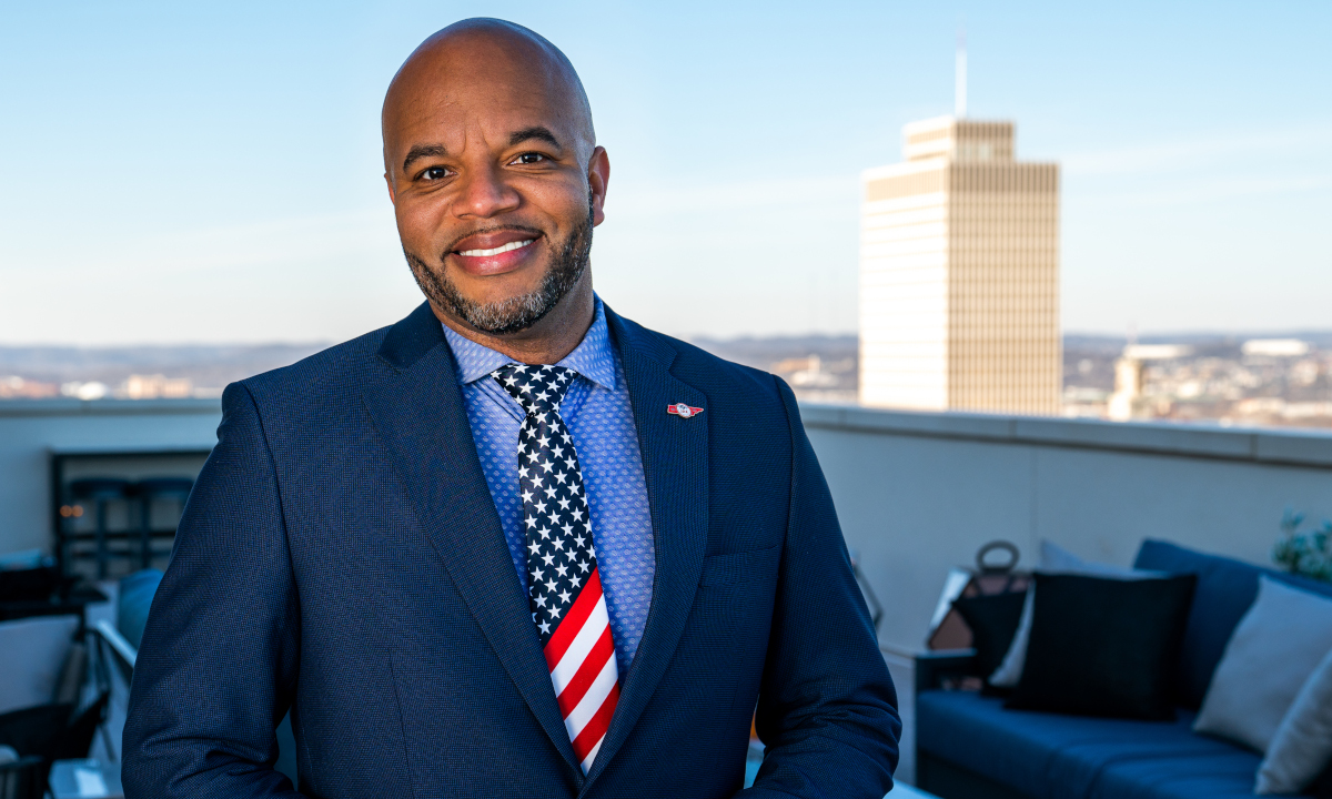 Quincy J. McKnight, CEO and Candidate for Congress